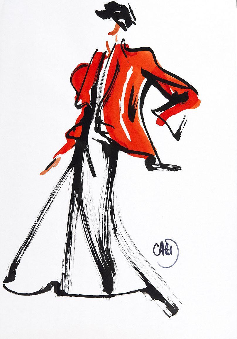 a0f47c06ba A fashion illustration renaissance
