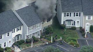 Serie di esplosioni a nord di Boston per un guasto alla rete del gas
