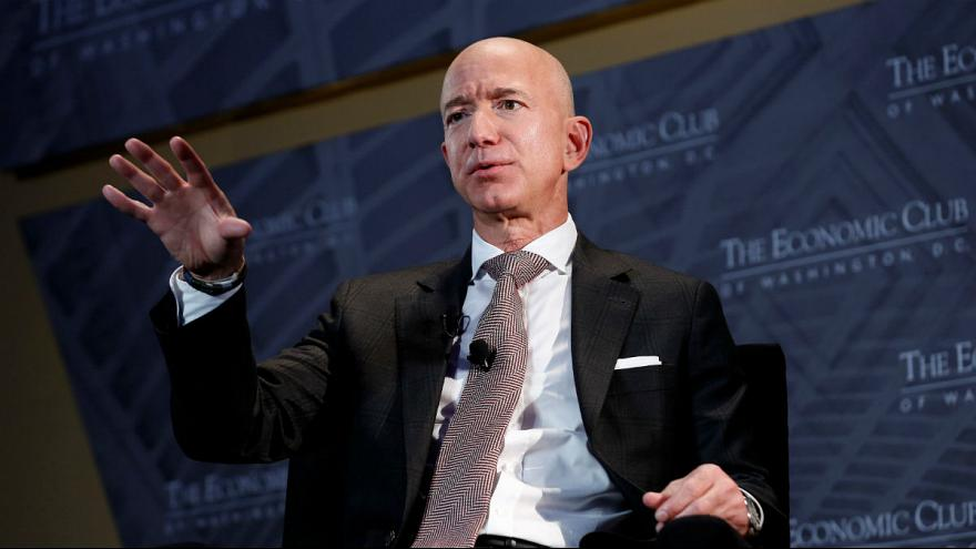 جف بزوس، رئیس شرکت آمازون