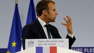 برنامه ۸ میلیارد یورویی مکرون برای مبارزه با فقر در فرانسه