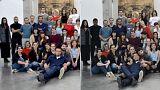 Fransız okulu, ABD'ye açılmak için beyaz öğrencileri siyaha boyadı