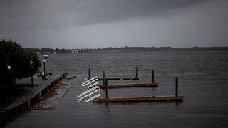 Hurricane Florence drenches North Carolina
