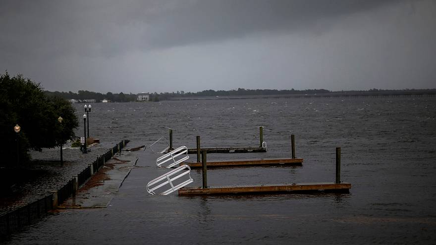 Hurricane Florence drenches North Carolina