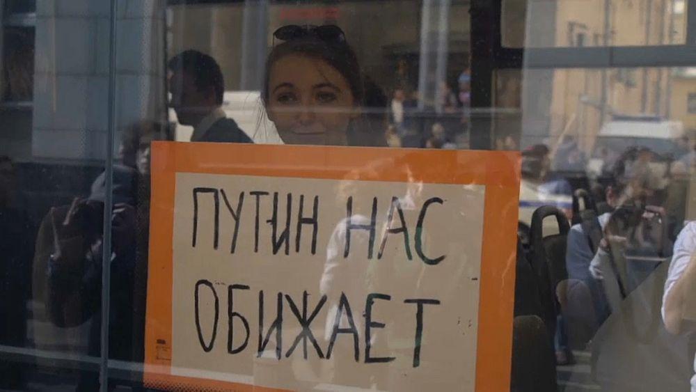 Протестное движение в России молодеет