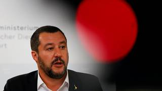 Matteo Salvini has issued defiant statements to the EU.