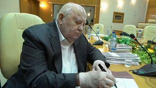 Michail Gorbatschow präsentiert Erinnerungen