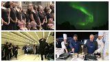 گلچین ویدئوهای بدون شرح هفته؛ از شفق قطبی در فنلاند تا حرکات موزون در هند