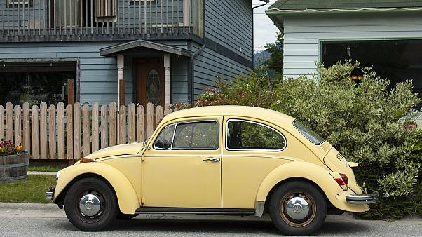 Volkswagen's Beetle car.