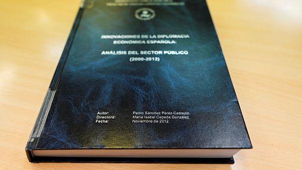 Documento completo: Lee la polémica tesis de Pedro  Sánchez