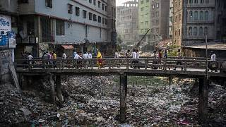 In Keraniganj, a district with many garment factories, the canal once flowed