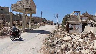 برنامج الغذاء العالمي يقدم مساعدات إنسانية لسكان إدلب وريفها