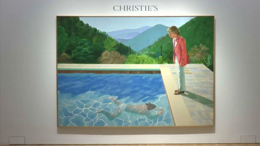 Record attendu pour une toile de Hockney