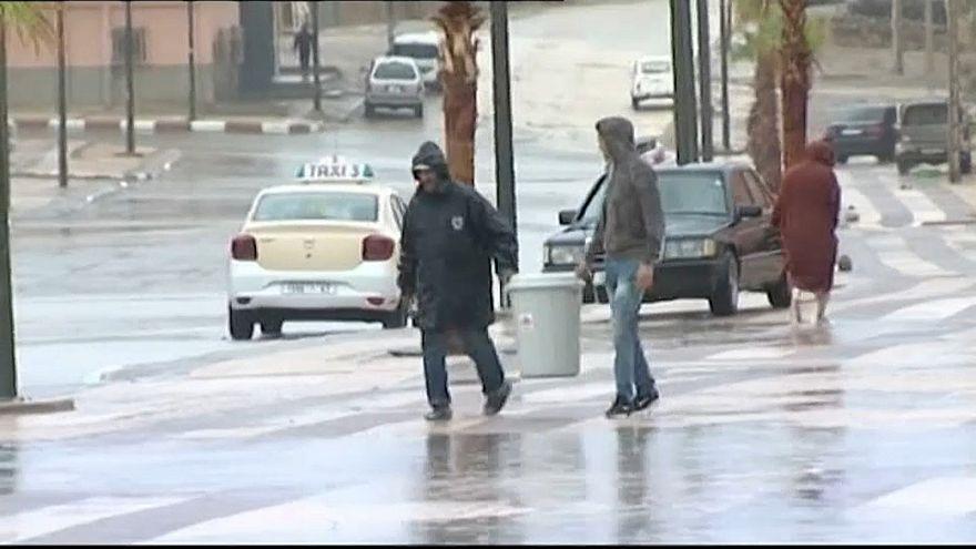شاهد: عواصف رعدية تجتاح عدة مناطق بالمغرب