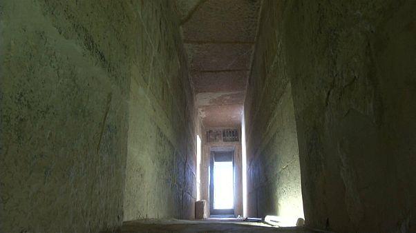 صورة أرشيفية لإحدى مقابر النبلاء الفراعنة