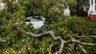 Tropensturm Florence in North Carolina: Hunderttausende ohne Strom