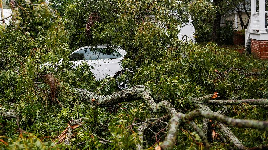 Tropensturm Florence in North Carolina: Hunderttausende ohne Strom