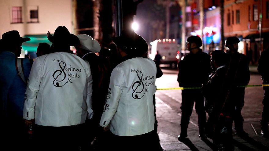 Terror mariachi en el corazón de México capital