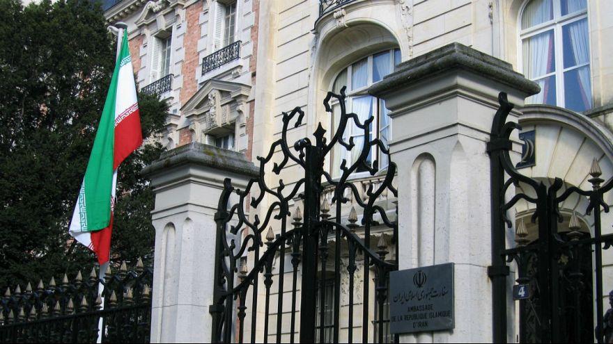 ساختمان سفارت ایران در پاریس