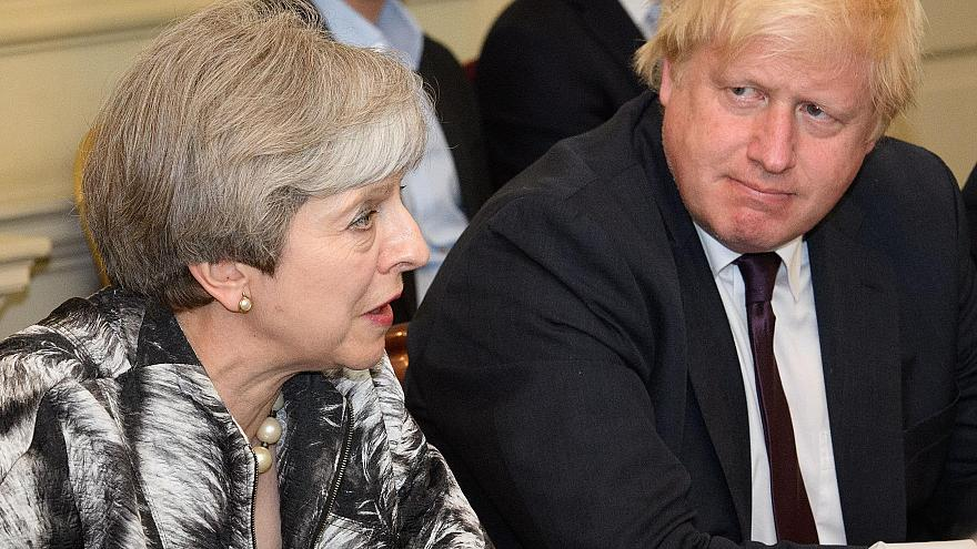 Boris Johnson tells MPs they should focus on getting rid of Brexit plan rather than Theresa May