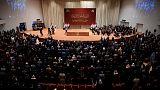 البرلمان العراقي ينتخب النائب السني محمد الحلبوسي رئيسا له