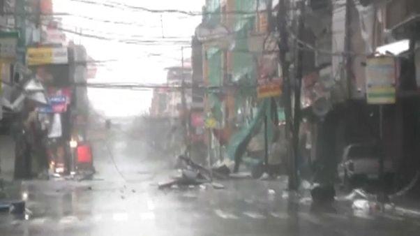Mangkhut deja varios muertos y desaparecidos en Filipinas