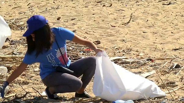 20 milyonu aşkın gönüllünün destek verdiği Dünya Temizlik Günü'nden renkli görüntüler