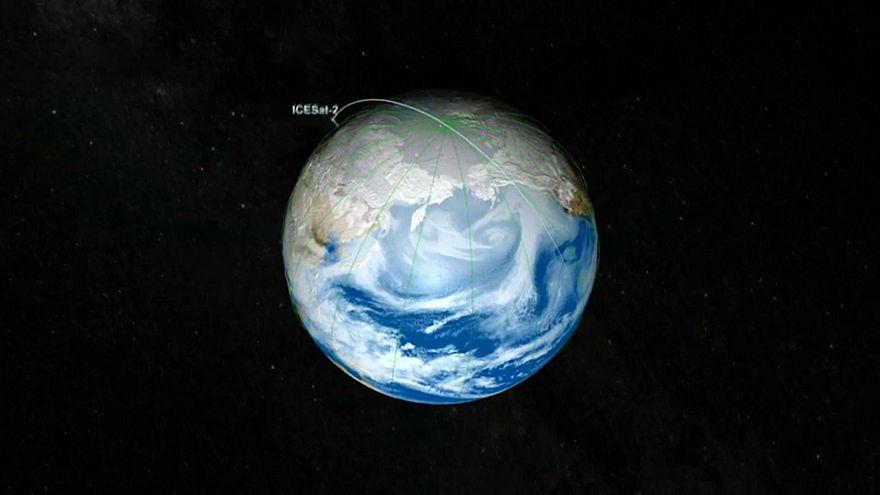 """Droht eine """"Heißzeit""""? Satellit """"ICESat-2"""" soll die Antwort liefern"""