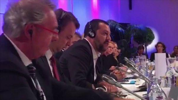 جدال لفظی سالوینی با وزیر خارجه لوکزامبورگ بر سر مهاجران