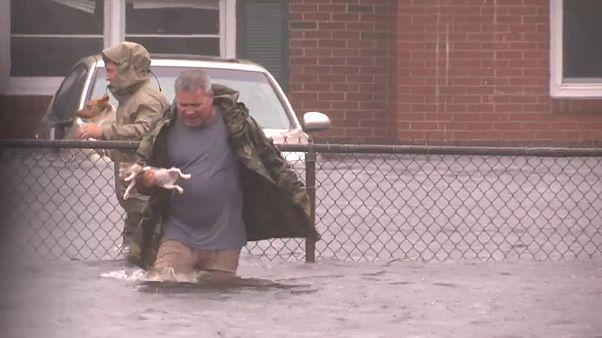 US-Sturm «Florence» schädigt fünf Millionen Menschen