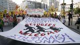 Ελλάδα: Ολοκληρώθηκε το αντιφασιστικό συλλαλητήριο στο κέντρο της Αθήνας