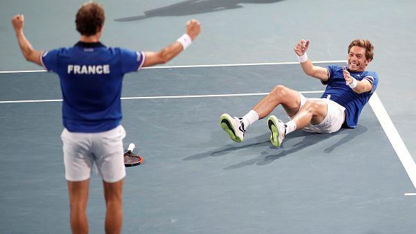 Davis-kupa: Franciaország döntős