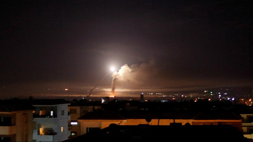 سوریه: تهاجم موشکی اسرائیل را ناکام گذاشتیم