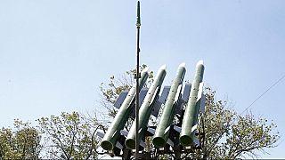 شاهد: المضادات الجوية السورية تتصدى لعدوان إسرائيلي في محيط مطار دمشق