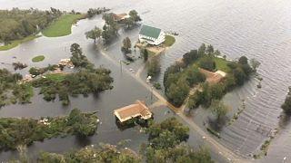 Óriási áradásokat okoz a Florence