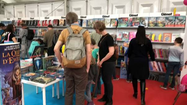 Brussels: Comics attract thousands of fans at Comic Strip Festival