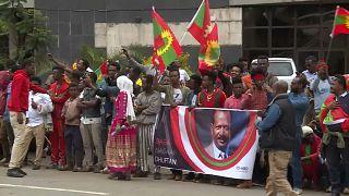 Etiyopya: Muhalif grup Oromo Kurtuluş Cephesi'nin ülkeye dönüşü sevinçle kutlanıyor