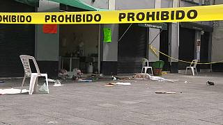 Mariachis assassinos no centro da Cidade do México