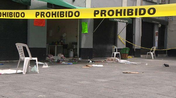 Mariachis assassinos no centro da Cidade do México