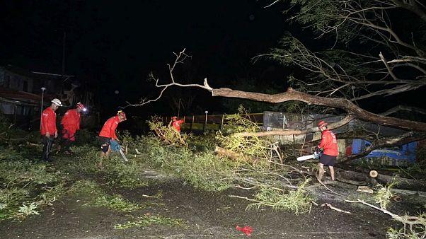 فیلیپین؛ شمار قربانیان طوفان بزرگ منگهوت دست کم به ۳۰ نفر رسید