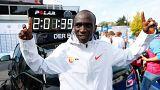 Eliud Kipchoge écrase le record du monde de marathon