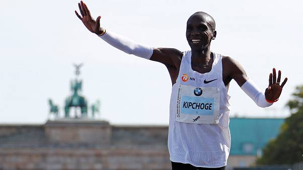 Kenyalı atletten Berlin Maratonu'nda yeni dünya rekoru
