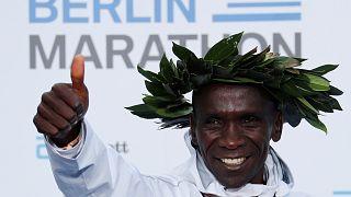 Berlin-Marathon: Kenianer Kipchoge läuft Weltrekord