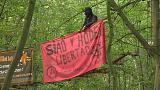 Forest protesters arrested in Germany