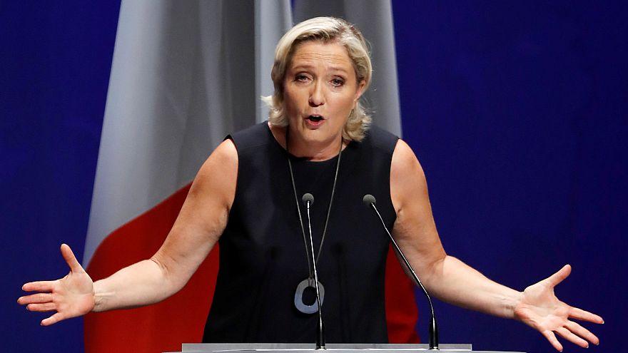Le Pen lance sa campagne pour les européennes