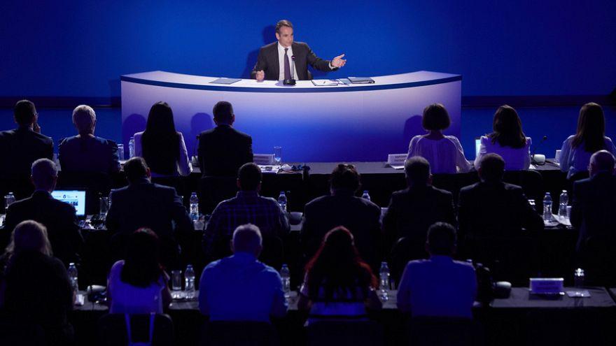 Kυριάκος Mητσοτάκης στο euronews: «Δεν έχουμε κανένα κοινό με τον κ. Σαλβίνι»