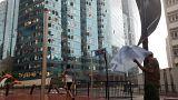 Video - Mangkhut Tayfunu Hong Konglulara zor anlar yaşattı