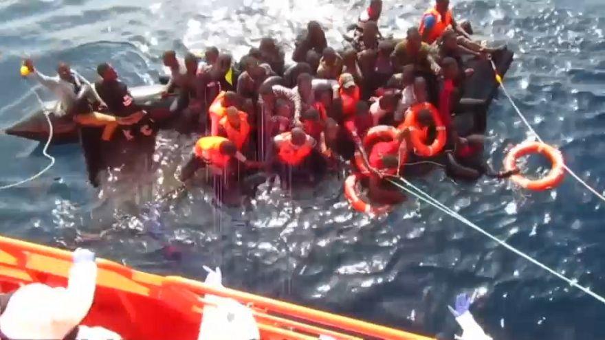 Des migrants sauvés au large de l'Espagne