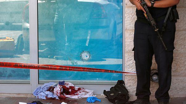 Escena del ataque en el centro comercial.