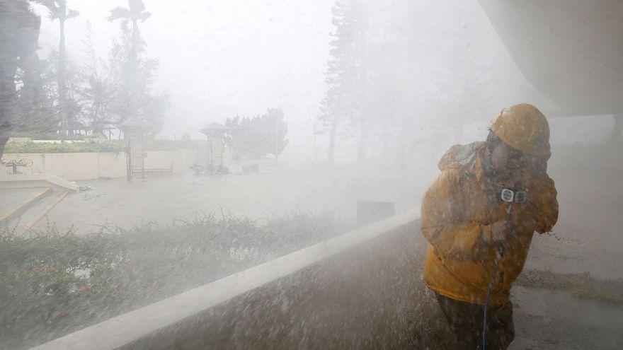 Passagem do tufão Mangkhut pelas Filipinas faz mais de 60 mortos
