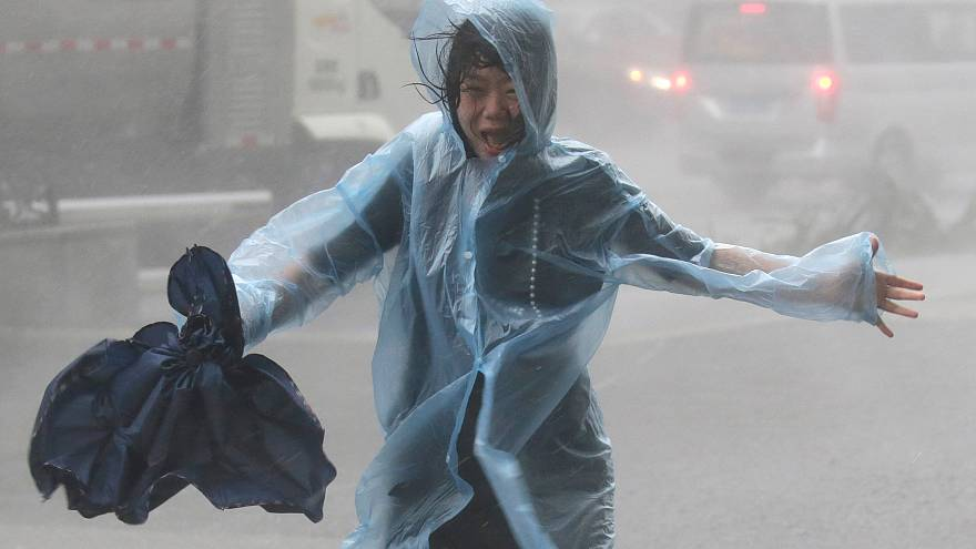 Dozens dead as Typhoon Mangkhut rips through southeast Asia